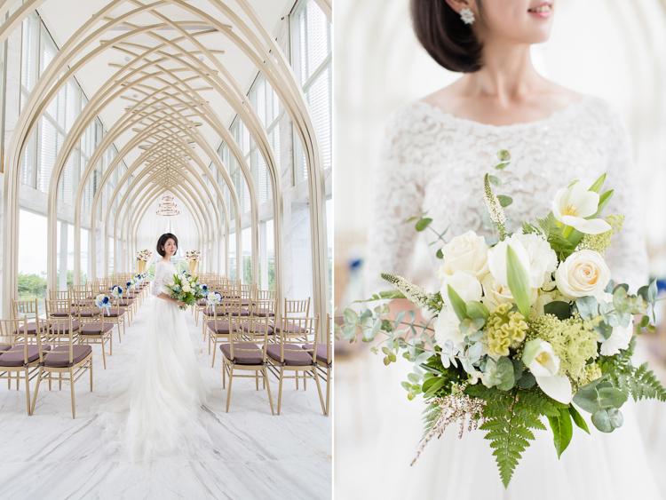 台中,萊特薇庭,玻璃儀式堂,美式婚紗,玩想影像