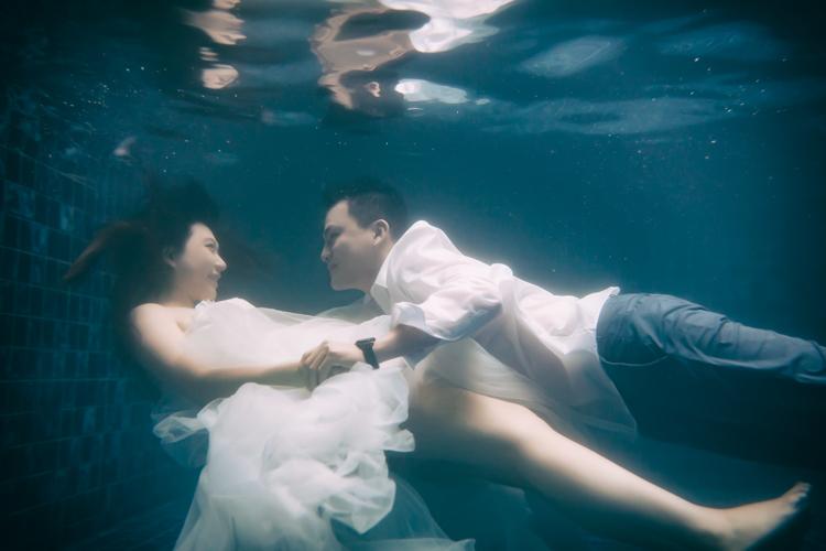 孕婦寫真,台中,自然唯美,水中拍攝,沐蘭,玩想影像