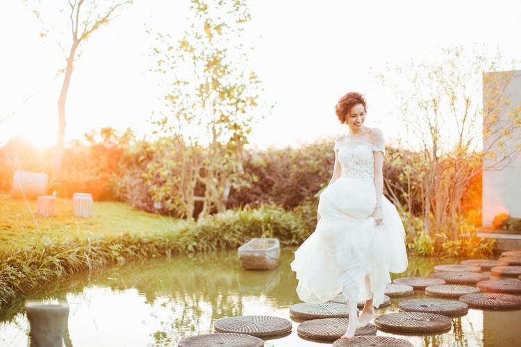 美式婚禮,草山玉溪